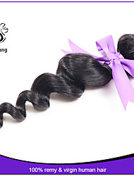 Unprocessed Indian Virgin Hair Weaves Loose Wave 12-22 inch Human Hair Extension 3pcs Lot