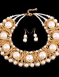 FanXi    Fashion Bride Necklace  Earrings