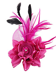 Women's Rose Flower Wedding Bridal Headpieces Fascinators