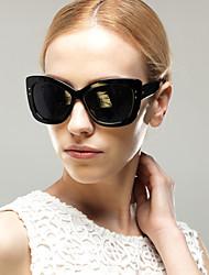 Sunglasses Women's Elegant / Modern / Fashion Oversized Black / Coffee / Red / Leopard Sunglasses Full-Rim