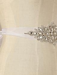 Rhinestone Wedding Dress Belt / Ribbon Belt