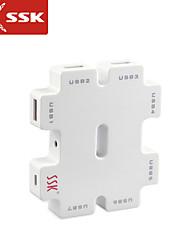 usb ssk® 2.0 shu011-1 7 porte hub USB ad alta velocità