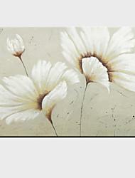 peintures à l'huile toile peinte à la main de fleurs moderne un panneau prêt à accrocher