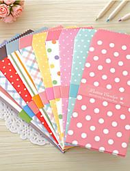 Süßigkeitfarbenpunktmusters Umschlag Set (5 Stück)