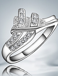 S925 Silver Plated Party Design Ring