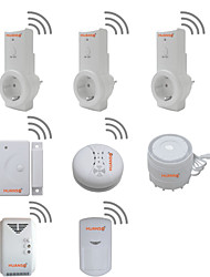 Wireless Wifi P2P IP Smart Home Security Luxury Kit