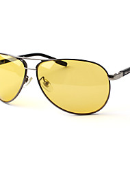 hombres 's Polarizada Aviador Gafas de Sol