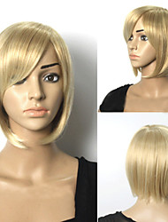 Popular Short Hair Wigs Hair Blone Wave Synthetic Hair Wigs