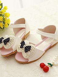 Sandaler/Flade sko ( Rosa/Beige ) - GIRL - Åben tå