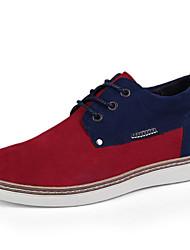 Scarpe da uomo Ufficio e lavoro/Casual Scamosciato Sneakers alla moda Blu/Giallo/Borgogna