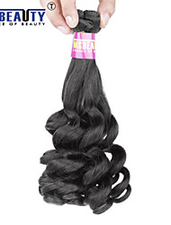 3Pcs/Lot 7A Brazilian Fumi Hair Curly 4 Virgin Human Hair Weaves 95-100g /Package(one package contain 4 bundles)