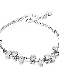 Aimei Women's Silver-plated High Quality Handwork Elegant Bracelet
