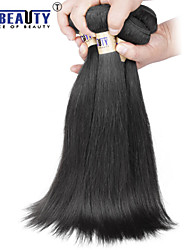 "4 Pcs /Lot 8""-30"" 6A Brazilian Virgin Hair Straight Human Hair Wefts 100% Unprocessed Brazilian Remy Hair Weaves"