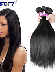 "3 Pcs /Lot 8""-30"" Brazilian Virgin Hair Straight Human Hair Extensions 100% Unprocessed Brazilian Remy Hair Weaves"