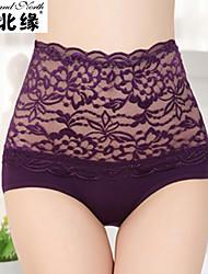 norte y el margen sur del código de alta calidad ropa interior transparente atractiva de la cintura de encaje valor de fitness abdomen 2