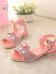 Girls' Shoes Wedding Comfort  Sandals Pink/Red