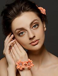 bracelets de mariage fleurs d'oranger corsages de mariée (2 fleurs 1 pièce)