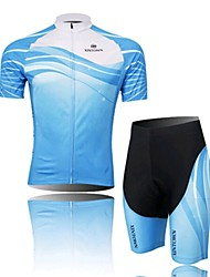 The Sea Spirit Cycling Wear Short Sleeved Suit, Moisture Cycling Wear, Motor Function Material