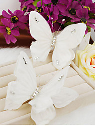Butterfly  Shape Pearl Hair Clip Bride Hair Wedding Headdress Wedding Accessories One Piece