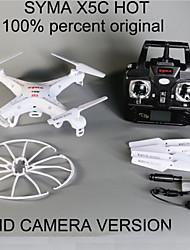 X5c-1 quadrocopter del syma alta calidad del syma drone helicóptero rc X5c actualización con la cámara de la cámara hd 2 mp