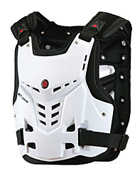 Ski Protective Gear Protective / Shock Proof Cross-Country / Motorcycle / Cycling/Bike Unisex Polyester White / Black