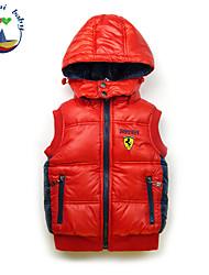 Boy's Winter/Fall Inelastic Medium Sleeveless Down & Cotton Padded/Vest (Cotton Blends)