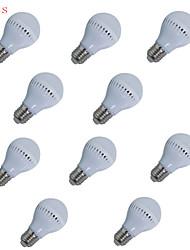 10pcs HRY® 5W E27 400LM 18XSMD2835 LED Globe Bulbs LED Light Bulbs(220V)