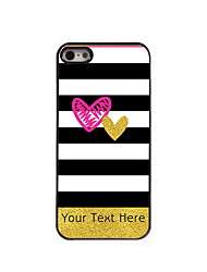 Personalized Gift The Stripe Design Aluminum Hard Case for iPhone 4/4S