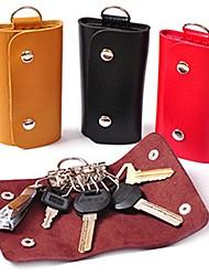 raccoglitori chiave di cuoio del supporto del keychain borse Tasti borsa caso