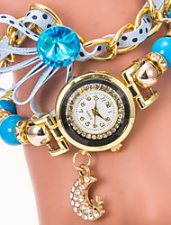 fahion sinobi pulseira de metal relógio