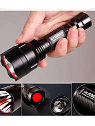Others  3 Mode 360 Lumens LED Flashlights/Handheld Flashlights 18650Waterproof/Rechargeable/Impact Resistant/Nonslip
