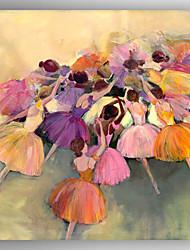 живопись маслом балета живопись ручной росписью холст с растянутыми оформлена
