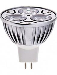 3x1W entrada DC12V alta potência levou luz spot