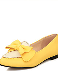 Women's Shoes  Chunky Heel Basic Pump Sandals/Pumps/Heels Office & Career/Dress/Casual Black/Yellow/White