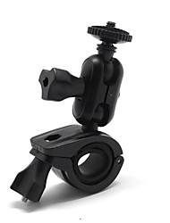 montaggio universale girevole a 360 gradi per la macchina fotografica / DVR / bicicletta&registratore moto - nero