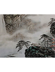 Landscape Oil Painting Hand-Painted Wall Art Other Artists 画面尺寸50*95厘米,装裱后成品60*120厘米 One Panel Ready to Hang