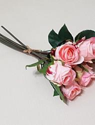 6 color mezclado rosa