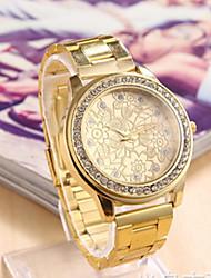 reloj de pulsera de metal fahion monicv