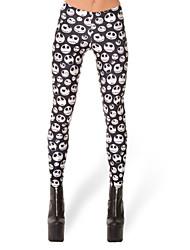 Pantalones ( Licra/Poliéster )- Sexy/Bodycon/Casual Mujer