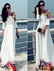 ZOSOL Women's Sexy/Retro Print Dress