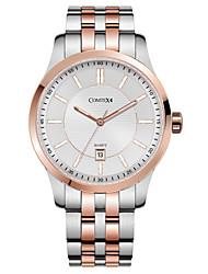COMTEX men's steel watch quartz watch S6207G-3-5