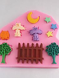 bakeware molde fondant bolo decoração do molde