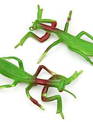 (5 pièces) simulation de silicone de protection de l'environnement mantis (couleur aléatoire)