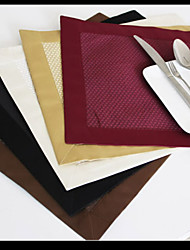 promoção do algodão / poliéster multicolor placemat placemat