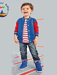 Boy's All Seasons Inelastic Medium Long Sleeve Three Pieces Clothing Sets (Cotton Blends)