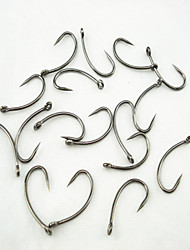 100Pcs*Carp Fishing Hook Barbless Hook Size 4# 6# 8# 10#