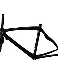 RB-NT28+FK-NG28 Neasty Brand 700C Full Carbon Fiber Frame and Fork 3K/12K Weave 50/52/56CM Carbon Black