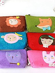 Korean Romane Stylish Multi Color Cloth Coin Purse (Random Delivery)
