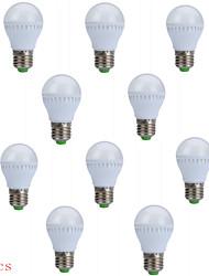 10pcs 5w e27 250LM 10xsmd2835 ampoules globe LED ampoules (220v)