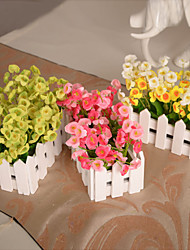 Silk / Plastic Campanula Artificial Flowers
